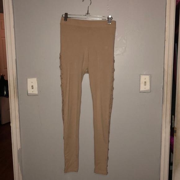 Forever 21 Pants - Tan leggings